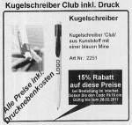 Beispiel Kugelschreiber