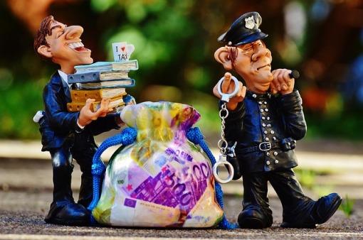 Polizei-Handschellen