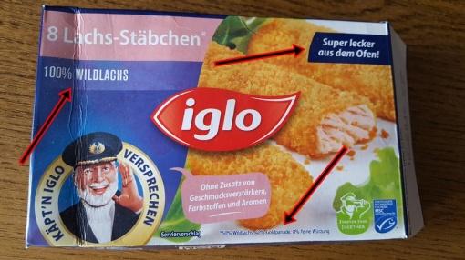 Wildlachs-Iglo